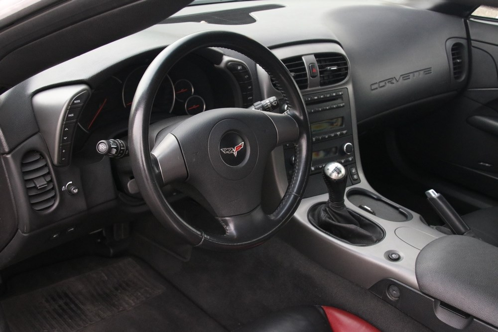 Interieur Chevrolet Corvette Z06 '06 65.000km €49.950,-