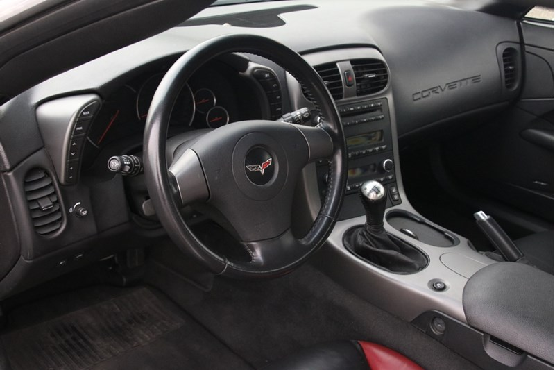 Interieur Chevrolet Corvette Z06 '06 65.000km
