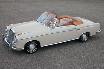 Mercedes Benz 220SE Ponton Convertible '60 €119.950,-