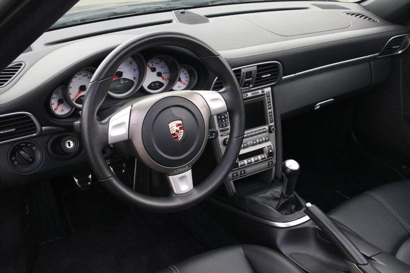 Interieur Porsche 997 Carrera 4S Cabriolet Manual '07 78.000km