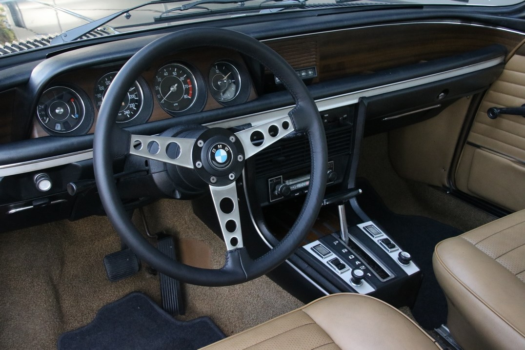 Interieur BMW 3.0CS Coupé Automatik '74 €44.950,