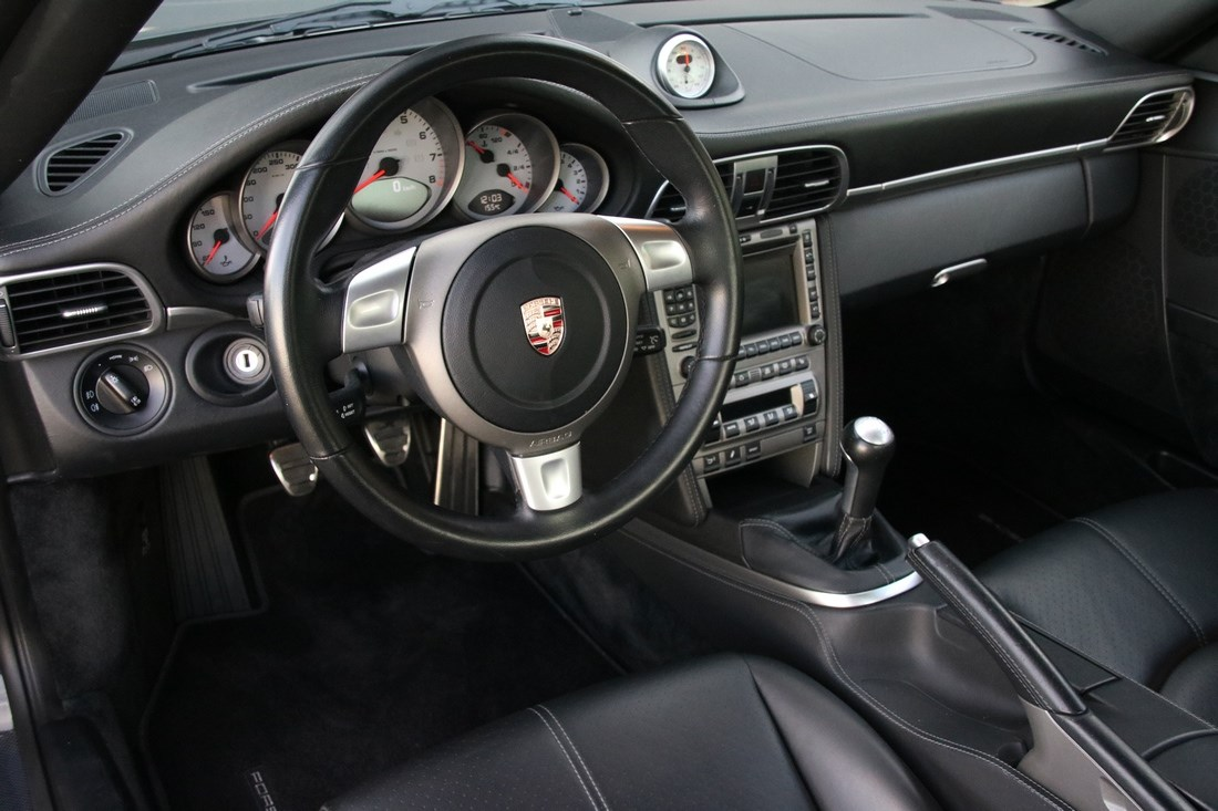 Interieur Porsche 997 Carrera 4S Coupe manual '07 82.000km
