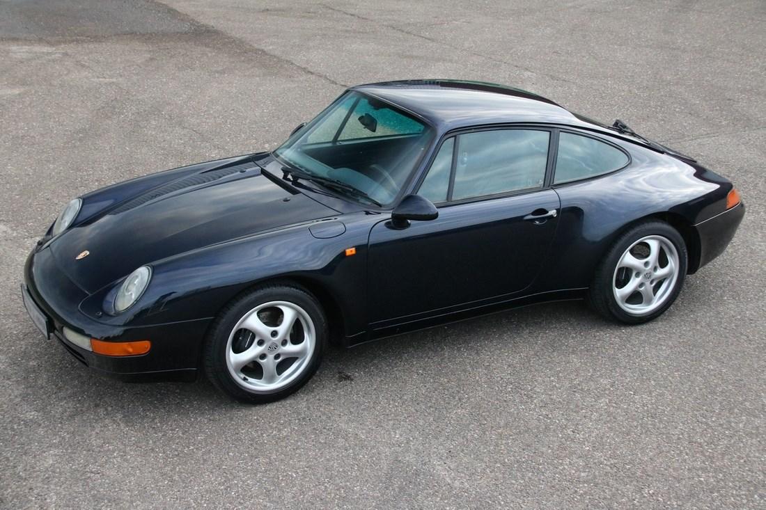 For sale: Porsche 993 Carrera 2 Tiptronic Coupe '94 136 000