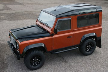 Land Rover Defender Regeneration Benziner '97/'10 €24.950,-