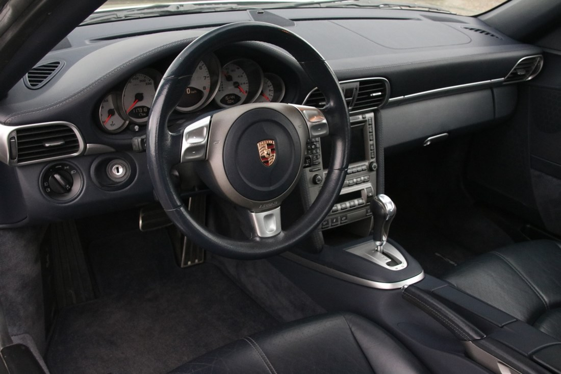 Interieur Porsche 997 Carrera S Coupe Tiptronic '04 117.000km €41.997,-