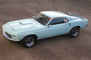 Ford Mustang Fastback '69 newly built for Alberto Prada