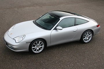 Porsche 996 Targa manual '02