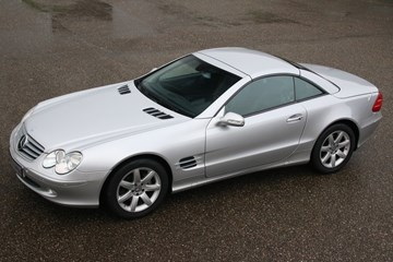 Mercedes Benz 500SL Roadster NL-car '02 102.000km
