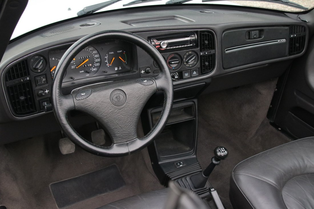 Interieur Saab 900 Cabriolet Low Pressure Turbo '91 82.000km €17.900,-