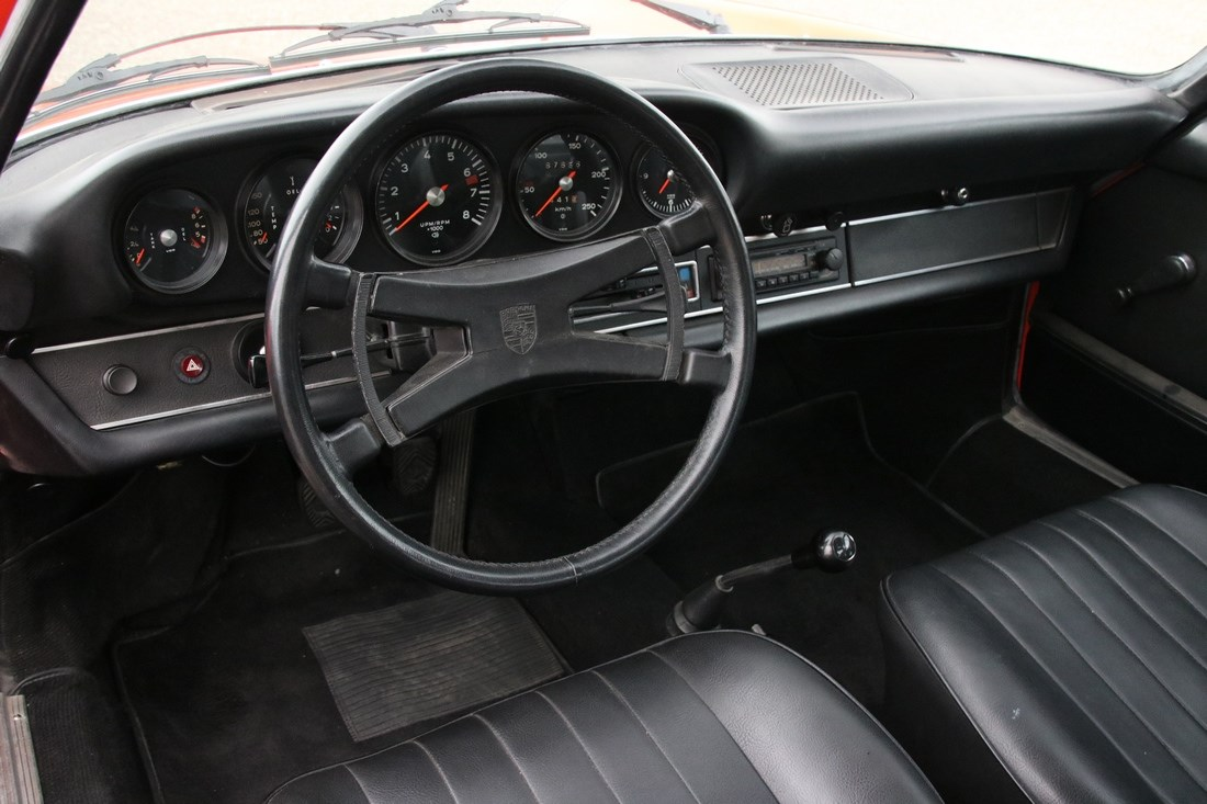 Interieur Porsche 911 2.4T Coupe '72 matching numbers