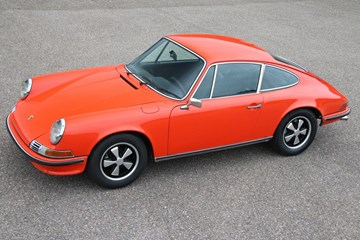 Porsche 911 2.4T Coupe '72 matching numbers