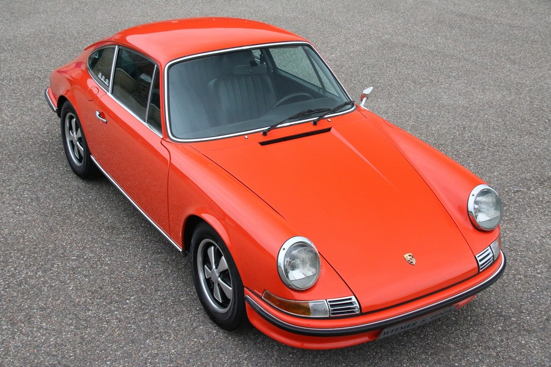 Exterieur Porsche 911 2.4T Coupe '72 matching numbers