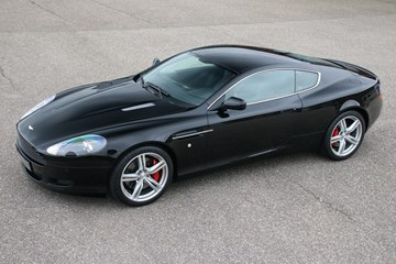 Aston Martin DB9 Coupe '07 35.000km €64.950,-