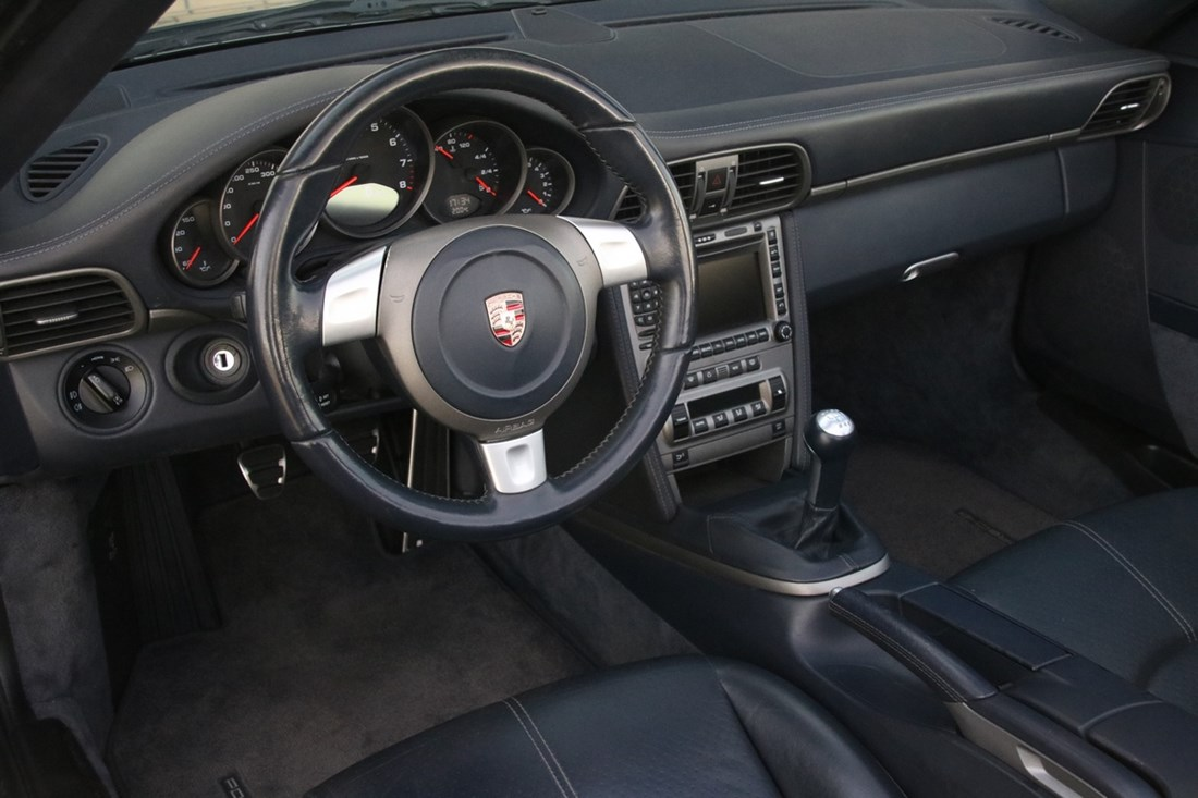 Interieur Porsche 997 Carrera Cabriolet Manual '07 88.000km