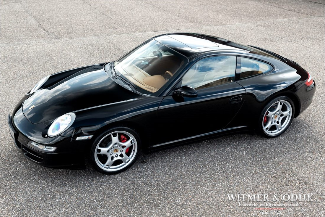 Te koop: Porsche 997 Carrera 4S Coupe manual