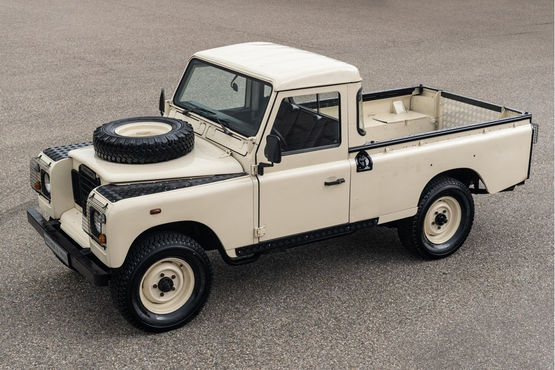 Te koop: Land Rover Series III Pick Up '78 6 cyl. benzine €19.950,-