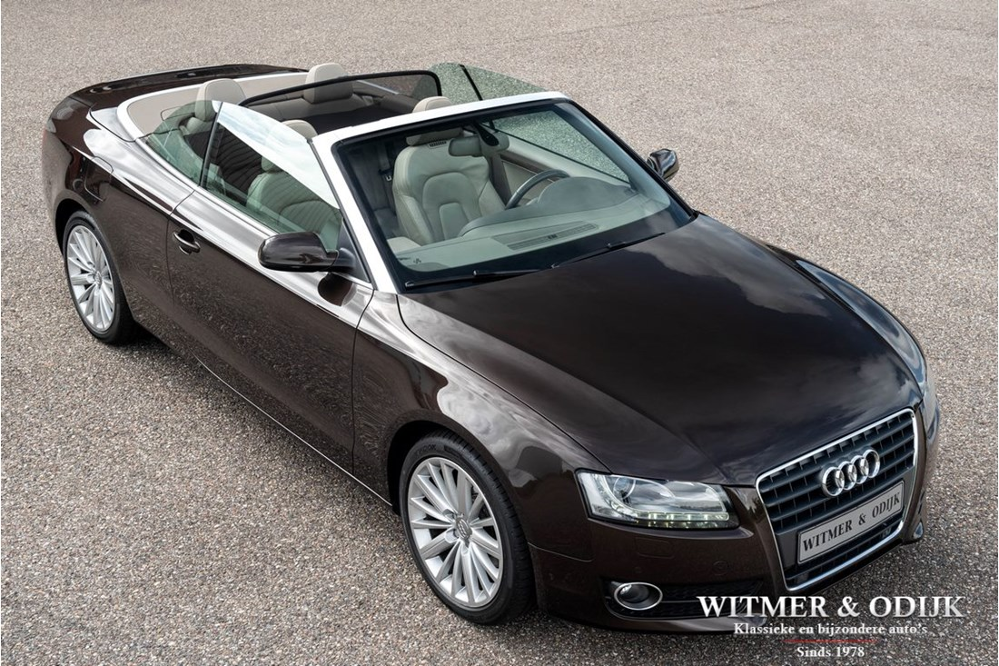 Exterieur Audi A5 Cabriolet 2.0TFSI Pro-line Automatic, heated seats and headrests '10 61.000km