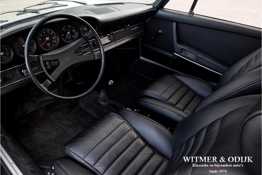 Interieur Porsche 911 2.2 S Coupe '71 volledig gerestaureerd matching numbers €136.911,-