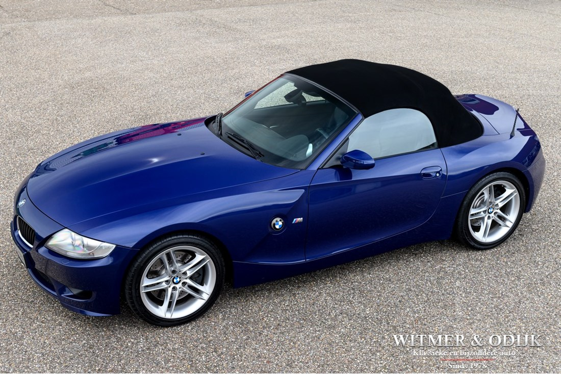 For sale: BMW Z4 M roadster '06 90.000km €39.950,-