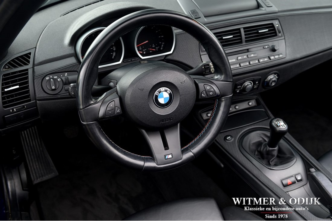 Interieur BMW Z4 M roadster '06 90.000km €39.950,-