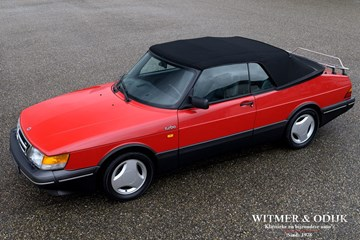 Saab 900 Cabriolet Aero Full Turbo '90 first paint, wholly original 113.000km
