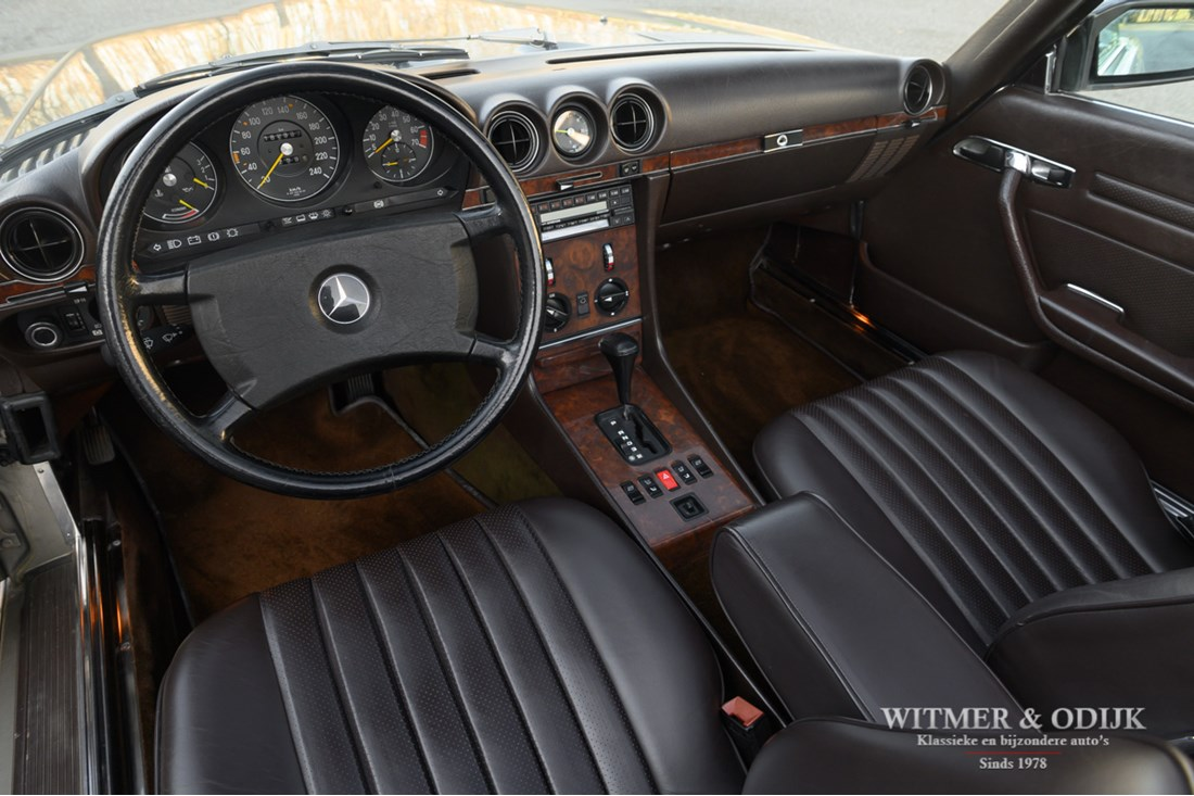 Interieur Mercedes Benz 300SL Roadster '88