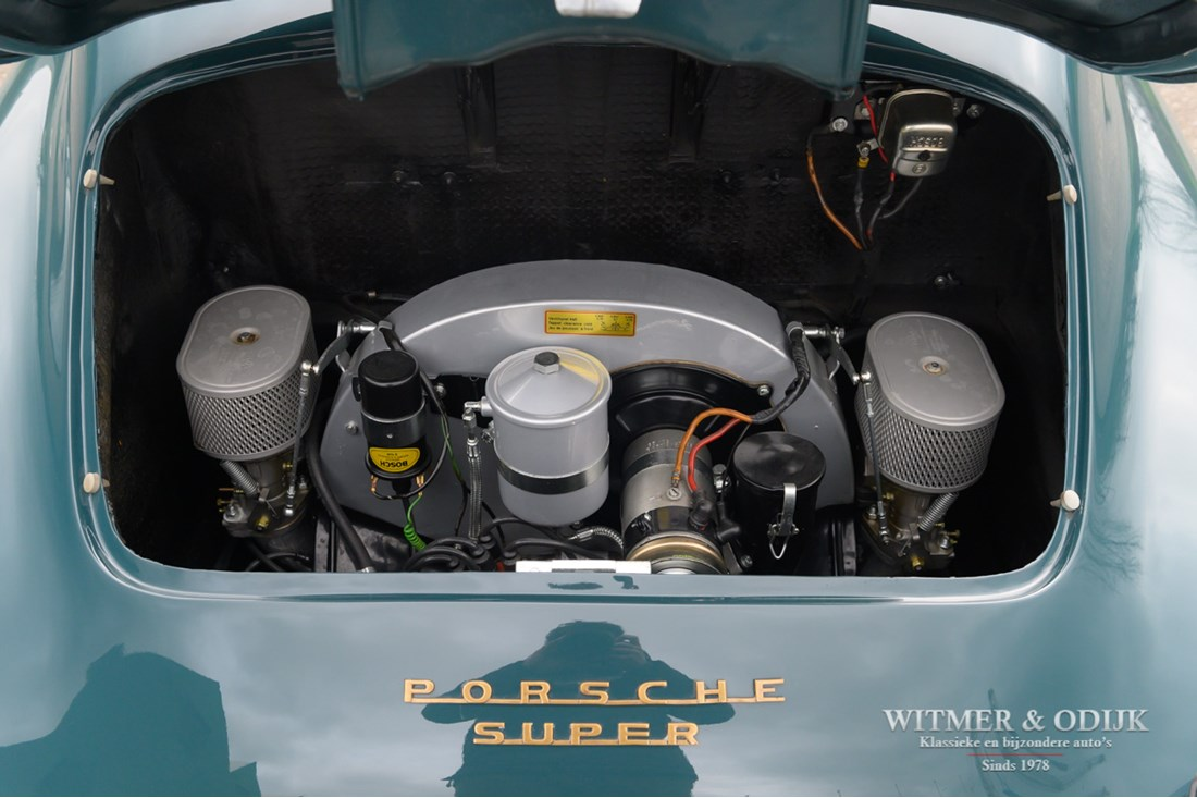 Motor Porsche 356 B T5 Super Coupe original engine and colour '59