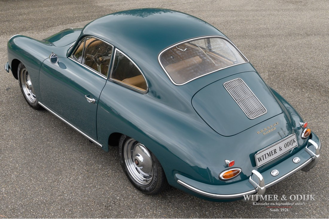Exterieur Porsche 356 B T5 Super Coupe original engine and colour '59