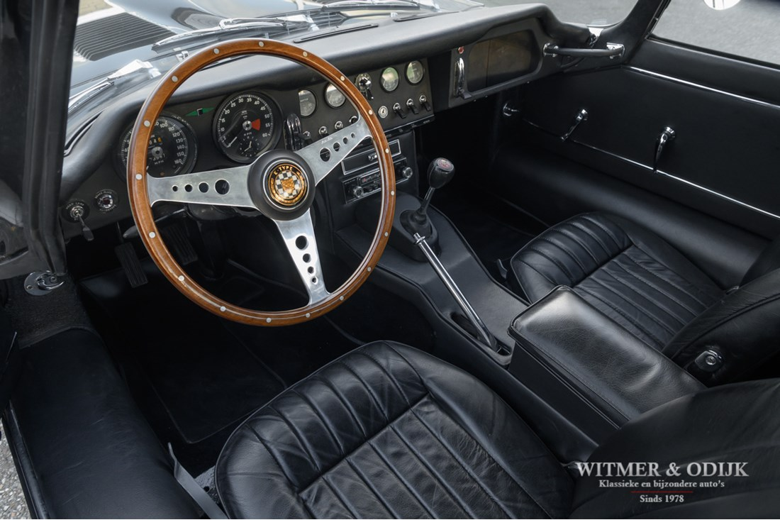 Interieur Jaguar E type Series I 4.2 Coupe original '65 €99.500,-