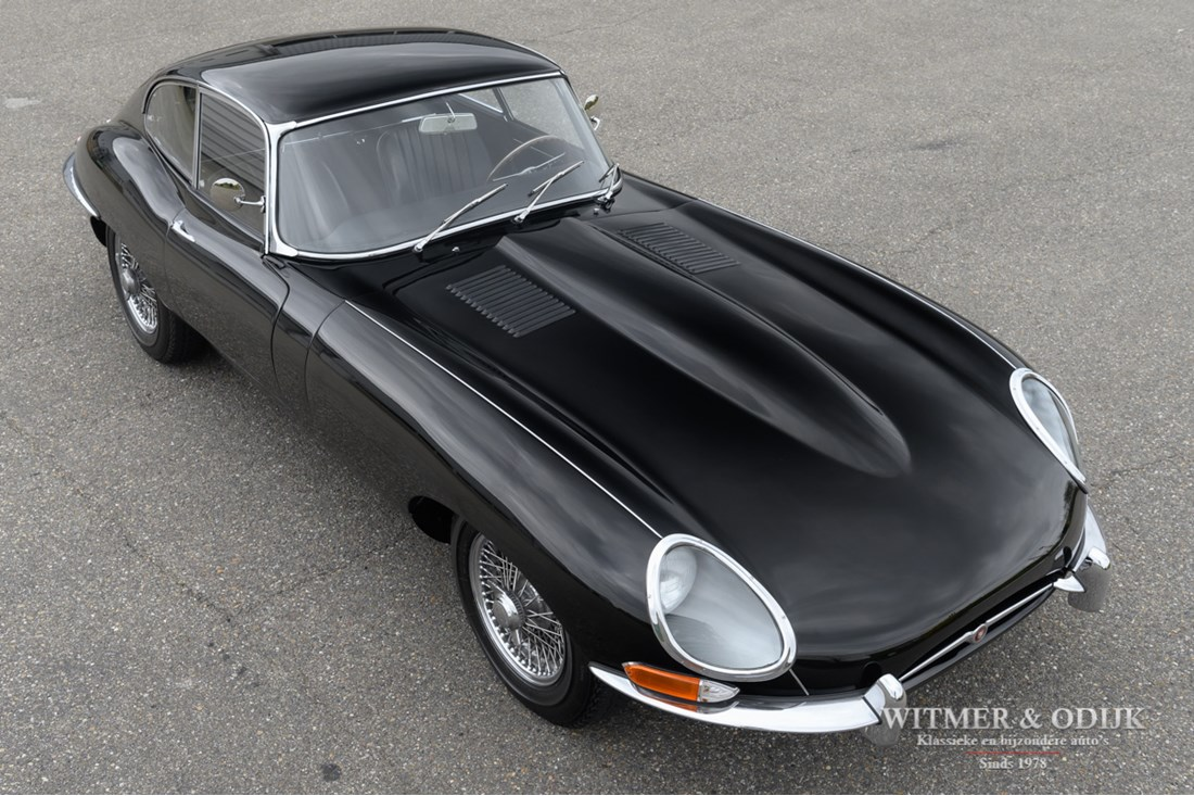 Exterieur Jaguar E type Series I 4.2 Coupe original '65 €99.500,-