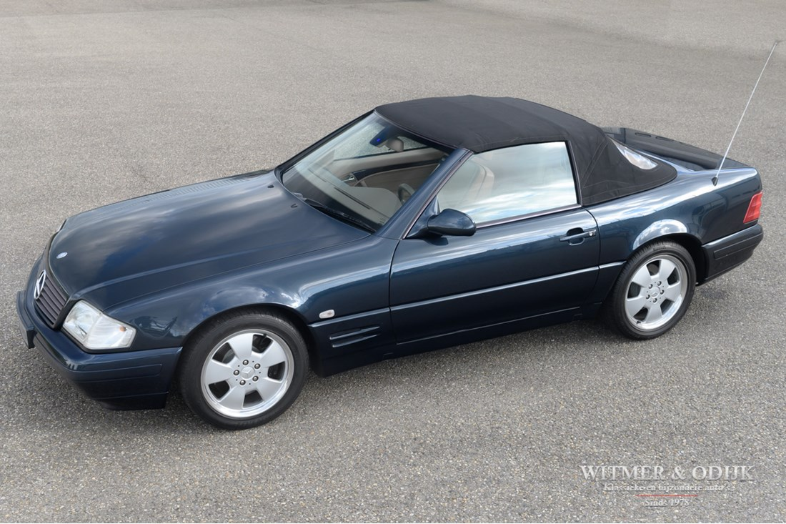 For sale: Mercedes Benz SL280 R129 Final edition '00 78.000km €29.950,-