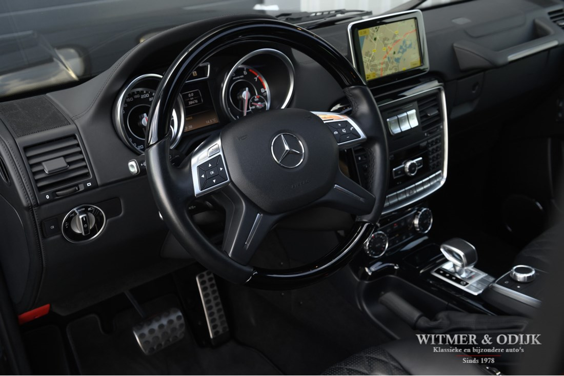Interieur Mercedes Benz G63 AMG '13 38.000km €99.950,-