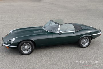 Jaguar E-type Roadster Series III V12 '72 €79.950,-