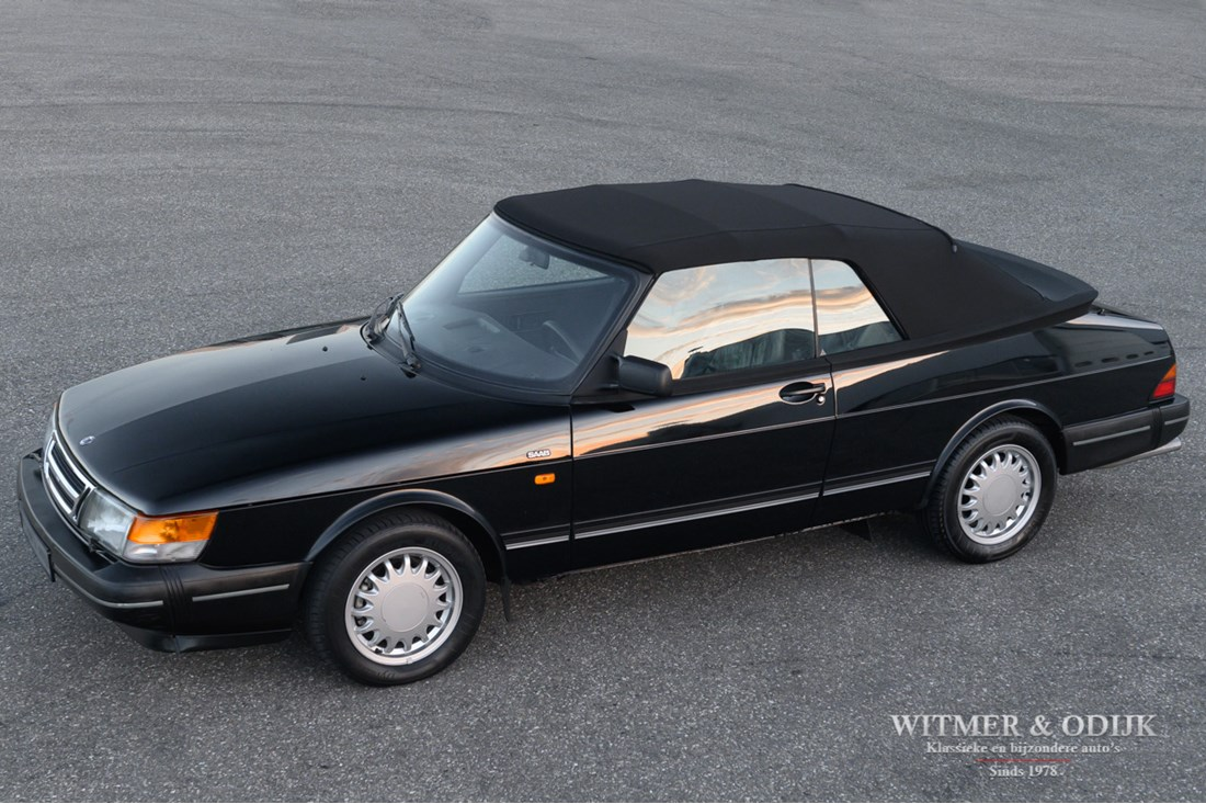 For sale: Saab 900 Turbo Convertible '92 92.000km €17.900,-