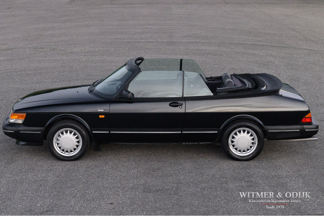 Exterieur Saab 900 Turbo Convertible '92 92.000km €17.900,-