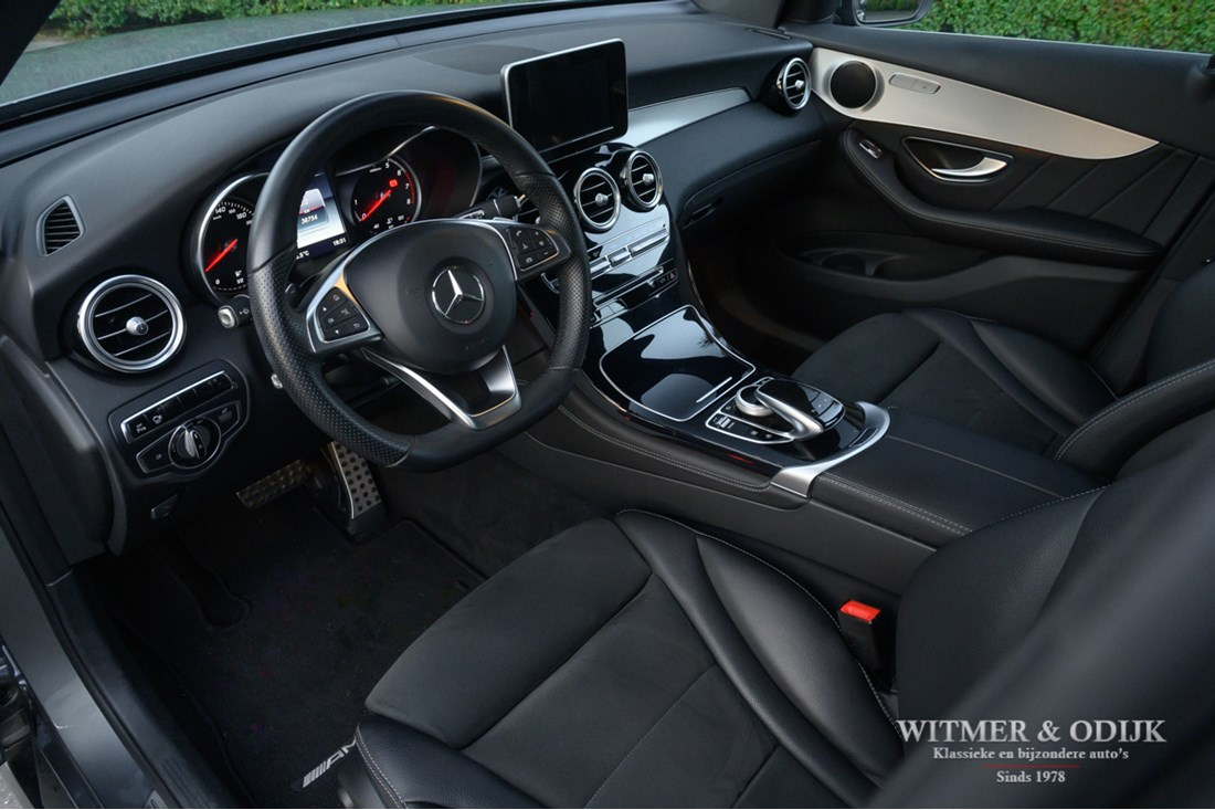 Interieur Mercedes Benz 250 GLC 4-MATIC AMG Line '16 38.000km €38.950,-