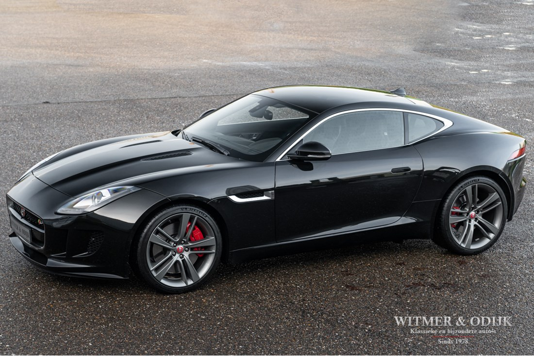 Te koop: Jaguar F-type Coupe 3.0 S Supercharged '14 44.000km