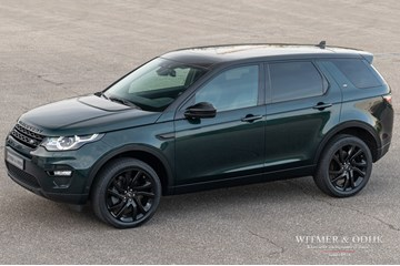 Land Rover Discovery Sport Luxury Line '16 7-zits, 1e eig., black-pack, 58.000km, btw-auto €43.950,-
