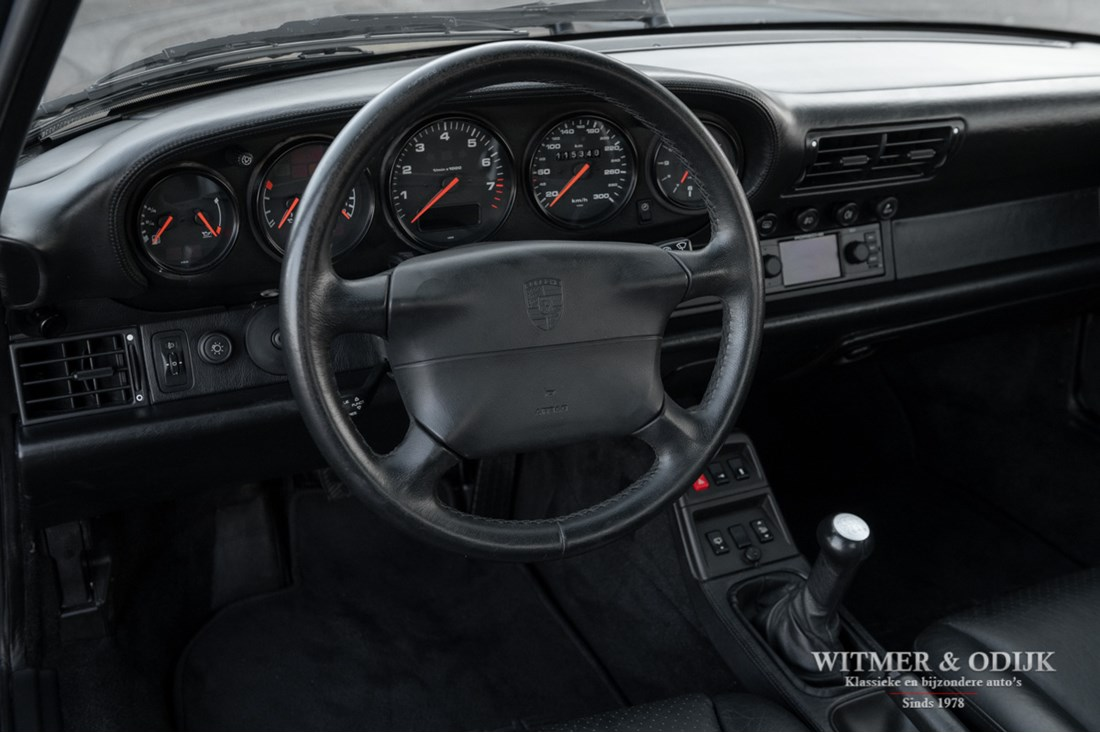 Interieur Porsche 993 Carrera 4S Coupe '96 115.000km