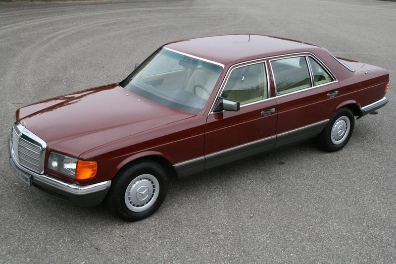 Te Koop Mercedes Benz 380sel 82 9 970km 29 950