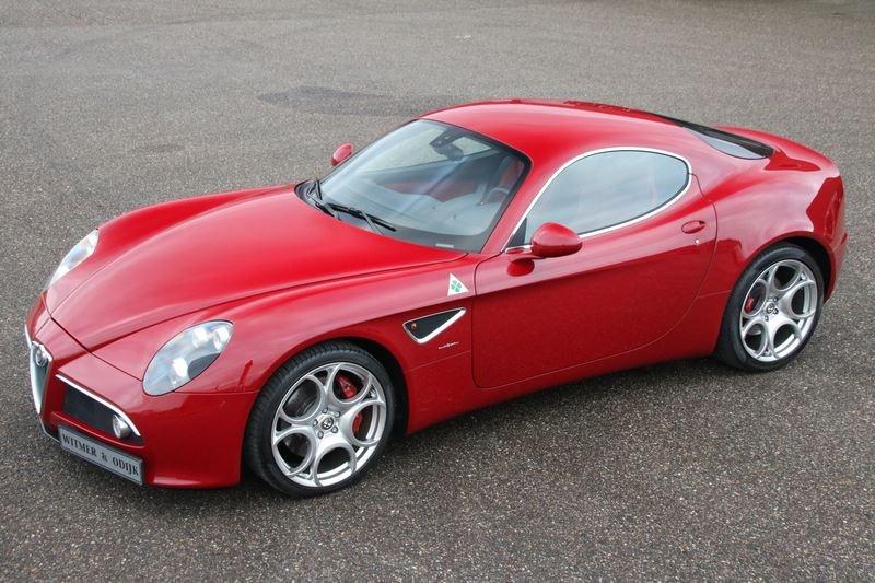 For sale: Alfa Romeo 8C Competizione '08 €279,000,-