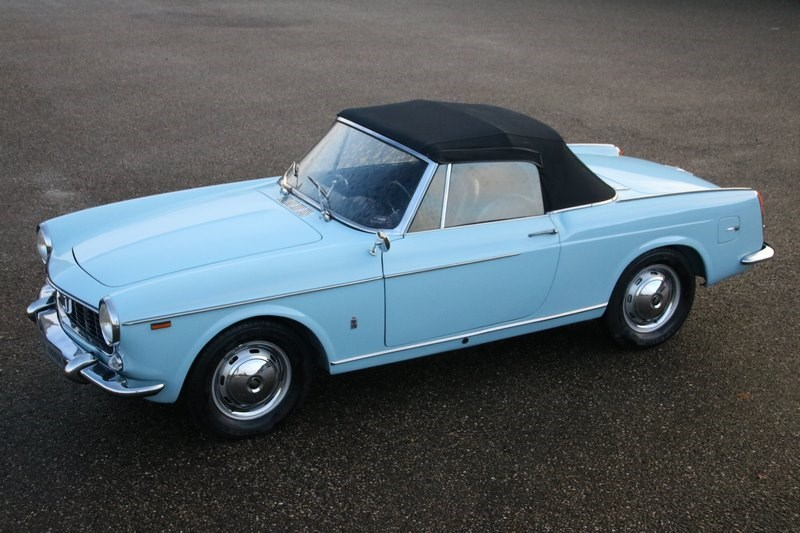 For sale: Fiat 1500 Cabriolet '64 Restaurata Totale