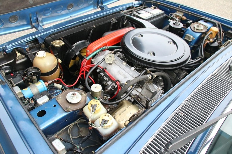 Motor Fiat 130 Coupe Manuale 'concours' '72