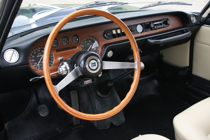 Interieur Lancia Fulvia Coupe Rally 1.3 S '69