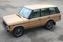 "Range Rover Classic '84 ""outstanding"""