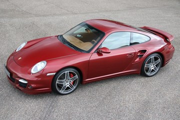 Porsche 997 Turbo Coupe '08 61.000km €69.997,-