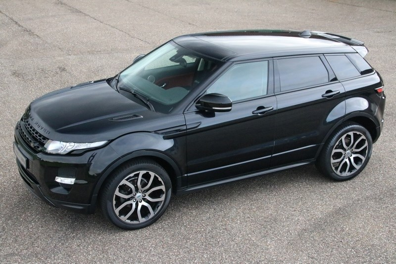 For sale: Range Rover Evoque Dynamic '11 78.000km