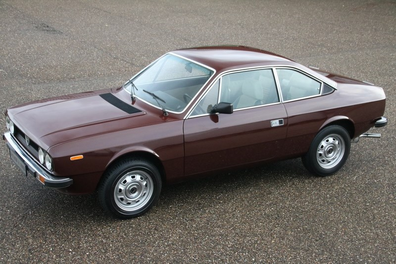 For sale: Lancia Beta Coupe 1300 '79 55.000km €12.950,-