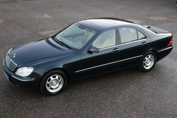 Mercedes Benz S320 '00 68.000km Tax beneficial