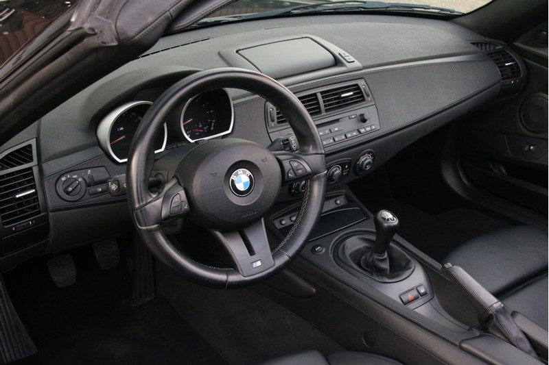 Interieur BMW Z4M Roadster '06 97.000km €39.950,-